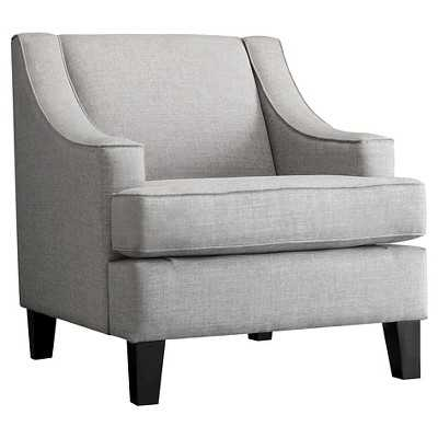 Inspire Q Clifford Swoop Arm Chair - Smoke - Target