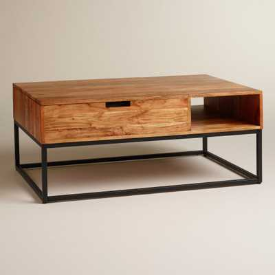 Wood Silas Storage Coffee Table - World Market/Cost Plus