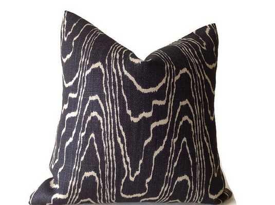 "Black 18"" sq. Pillows Decorative Throw Pillow - no insert - Etsy"