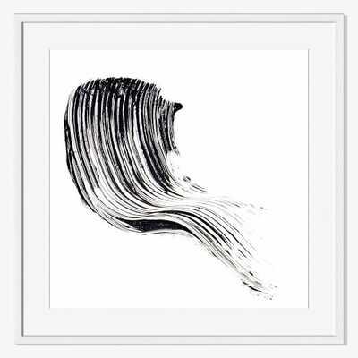 Offset for west elm Print - Mascara by The Licensing Project-Larg-Framed - West Elm
