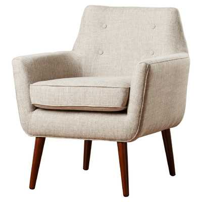 Kalman Arm Chair -Beige - Wayfair