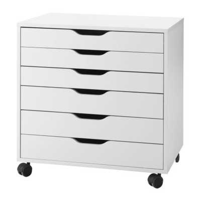 ALEX Drawer unit on casters - Ikea