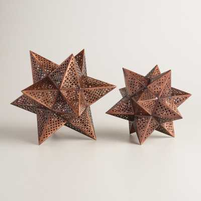 Punched Metal Stars - Large - World Market/Cost Plus