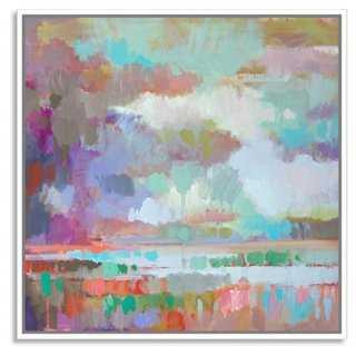 Erin Gregory, Kaleidoscope 6 - Framed - 24x24 - One Kings Lane