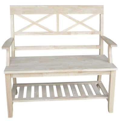 Wood Entryway Bench - AllModern