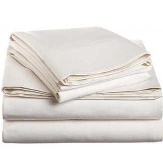 Simple Luxury 1500 Thread Count Egyptian Cotton Solid Sheet Set - Wayfair