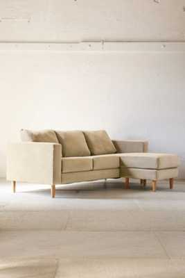 Quincy Chaise Sectional Sofa - Cream - Urban Outfitters