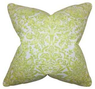 Shiloh 18x18 Pillow, Green - One Kings Lane