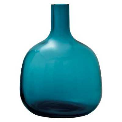Torre & Tagus Bolo Glass Vase -Turquoise - Target