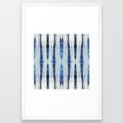 "Nori Blue - 26"" X 38"" - framed - Society6"