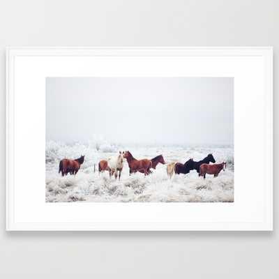 Winter Horseland - Society6
