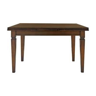 "LUCIANO 54"" RECTANGLE DINING TABLE IN BURNISHED BROWN - Arhaus"