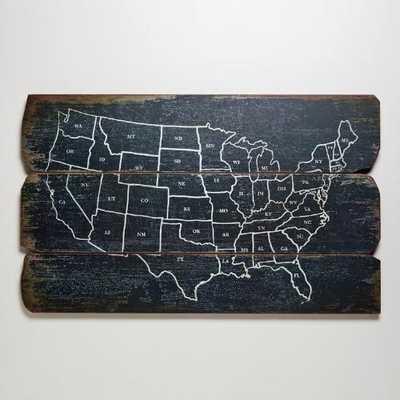 USA Wall Map - World Market/Cost Plus