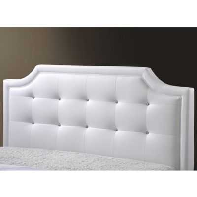 Carlotta Designer Bed with Upholstered Headboard - Bed Bath & Beyond