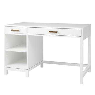 Cargo Desk & Hutch (White) - Land of Nod