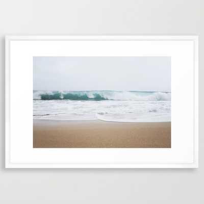 FRAMED ART PRINT, Ocean Wave - Society6