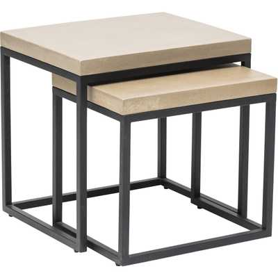 Maximus Nesting Side Tables - Set of two - High Fashion Home