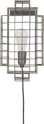 Cage wall sconce - CB2