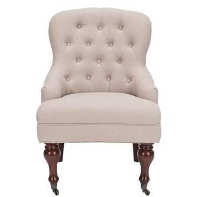 Safavieh Sutton Tufted Arm Chair - Overstock