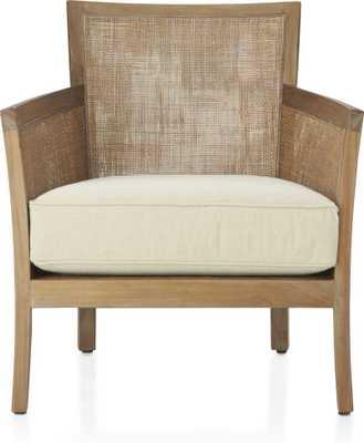 Blake Grey Wash Chair - Sand - Crate and Barrel