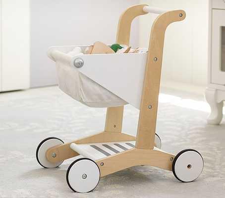 Wooden Shopping Cart - Pottery Barn Kids