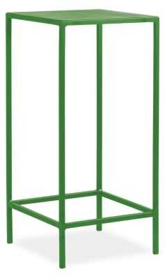 Slim End Table - 12x12x24 - Green - Room & Board