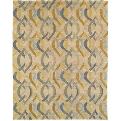 Integrity 'Wounded Warrior Donator' Honey Gold Hand-crafted LR12011 Rug - Overstock