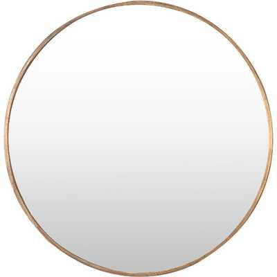 Junius Round Mirror - AllModern