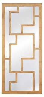 Owen Wall Mirror, Gold - One Kings Lane