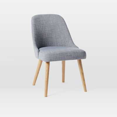 Mid-Century Dining Chair - Set of 4 - Shelter Blue - West Elm