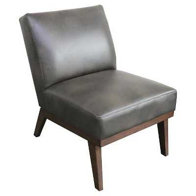 Mid-Century Modern Chair with Wooden Base - Target