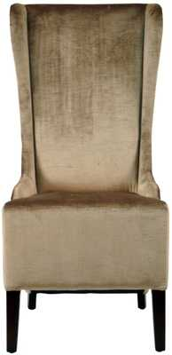 Bacall Dining Occasional Chair, Dark Champagne - Tressle