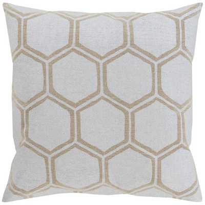 """Linen Throw Pillow - 18""""x 18"""" - Polyester - AllModern"""