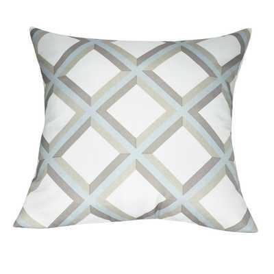 "Diamond Decorative Throw Pillow - 20"" with insert - Wayfair"