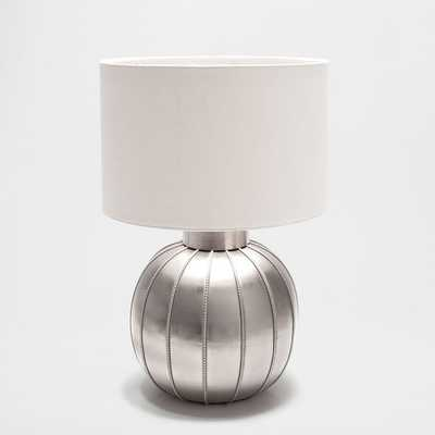 METAL ROUNDED BASE LAMP - Zara Home