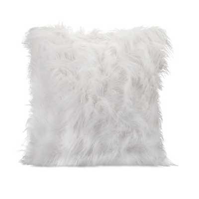 Nikki Chu Faux Fur Throw Pillow - AllModern