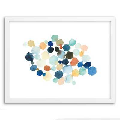 "Minted for west elm - Hexagon Cluster - 20""w x 16""l.-Framed - West Elm"