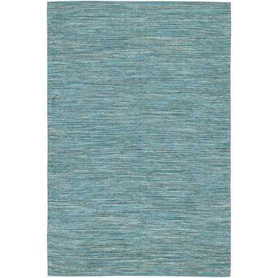"India Blue Area Rug - 5' x 7'6"" - AllModern"
