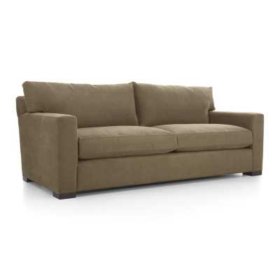 Axis II 2-Seat Sofa - Coffee - Crate and Barrel