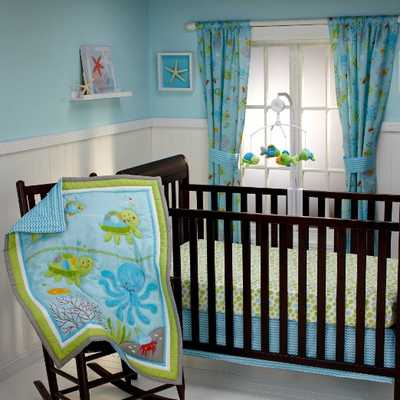 NoJo Little Bedding Ocean Dreams 3 Piece Crib Bedding Set - Amazon