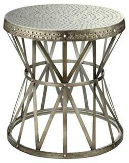 Calista Round Side Table - One Kings Lane