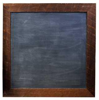 "24"" Square Chalkboard, Rustic - One Kings Lane"