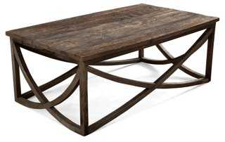 Lila Coffee Table, Natural - One Kings Lane