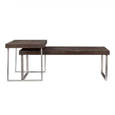 Newberry 2 Piece Nested Coffee Table Set - AllModern