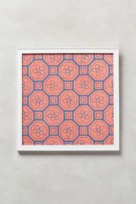 Octagon Chinoiserie Wall Art - Anthropologie
