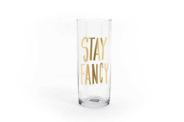 Stay Fancy Cocktail Glass - Domino