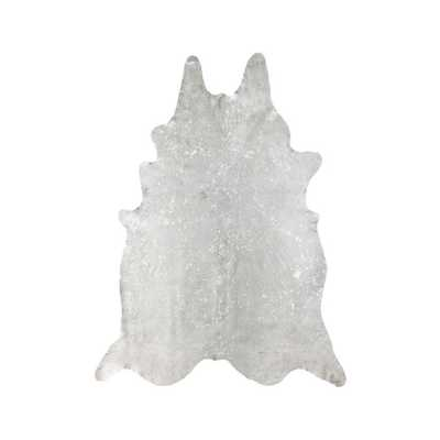 nuLOOM Cowhide Snow Novelty Shaped Area Rug - 5' x 7' - Wayfair
