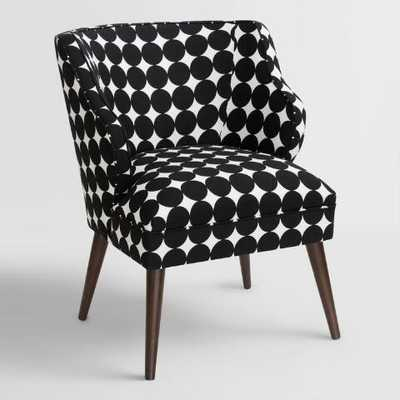 Jet Dotscape Audin Upholstered Chair - World Market/Cost Plus