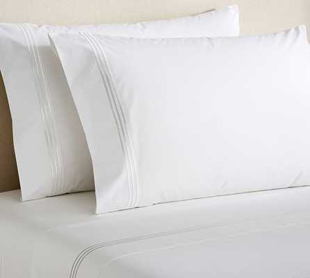Grand Embroidered 280 Thread Count Sheet Set - Pottery Barn