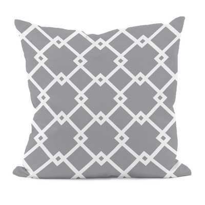Bo Geometric Throw Pillow - Wayfair
